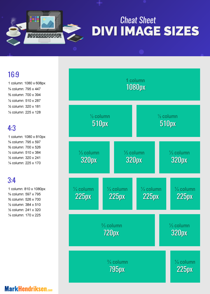 Best Divi Image Sizes for Your Website