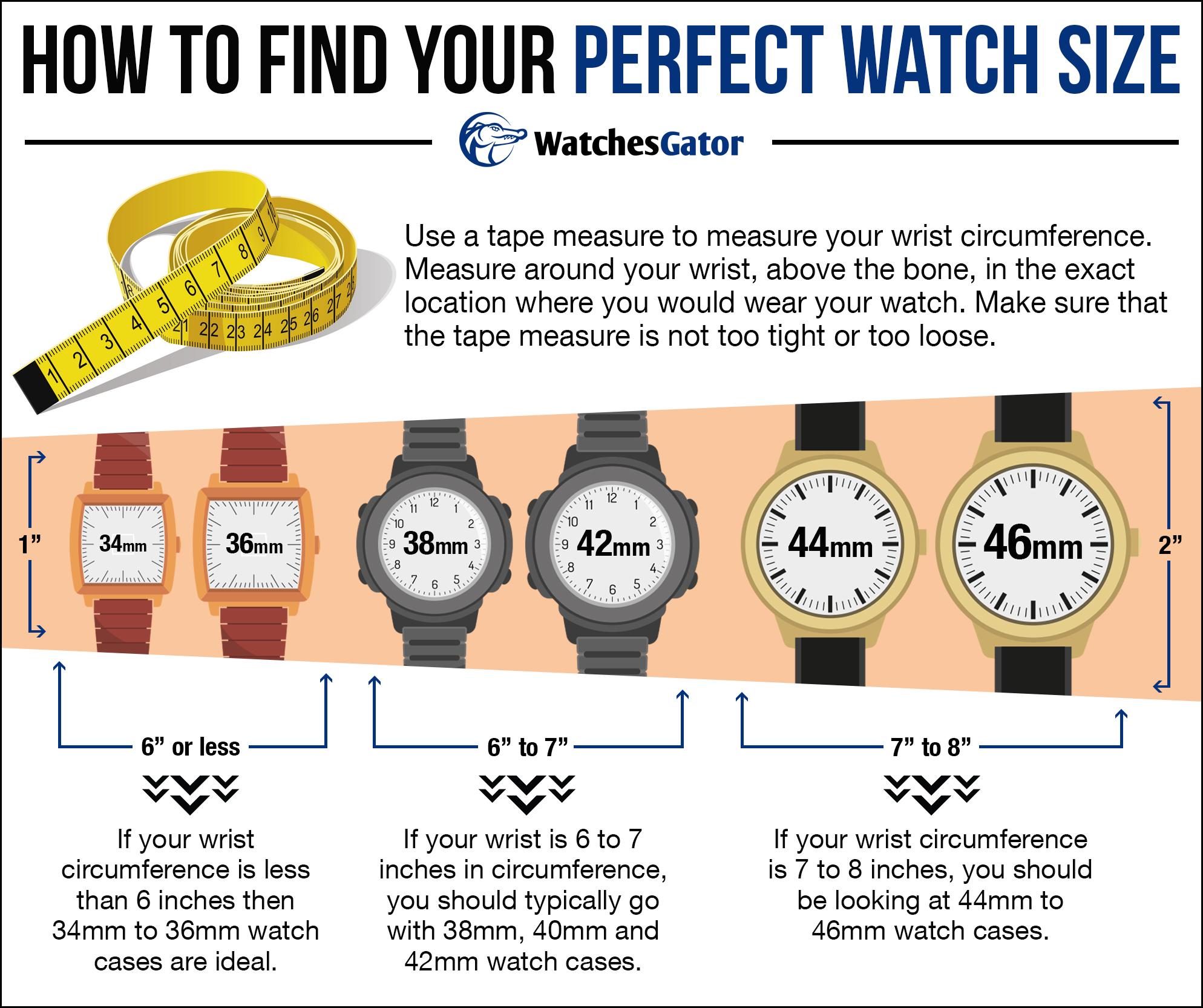 How To Find Your Perfect Watch Size