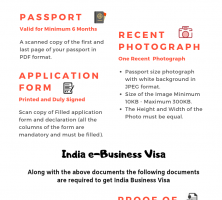 Indian Tourist Visa Requirements
