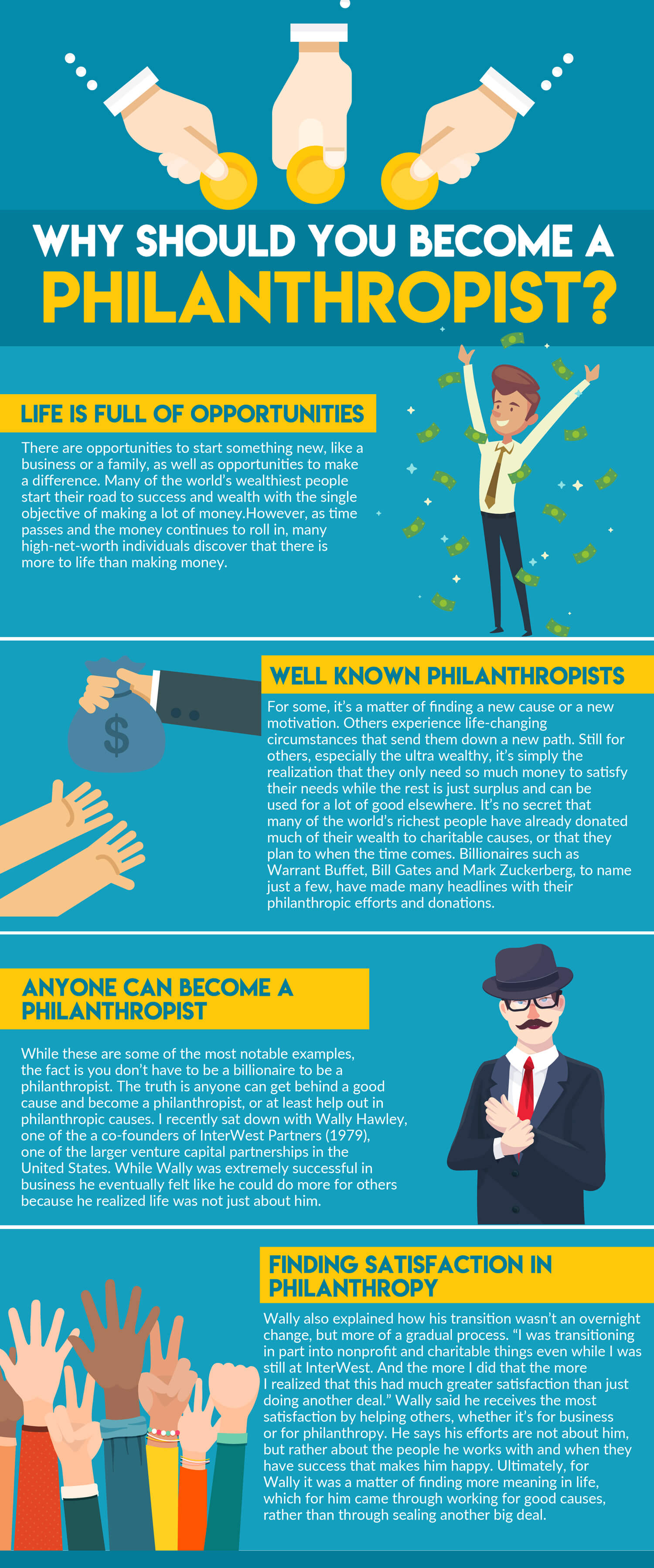 Why Should You Become A Philanthropist?