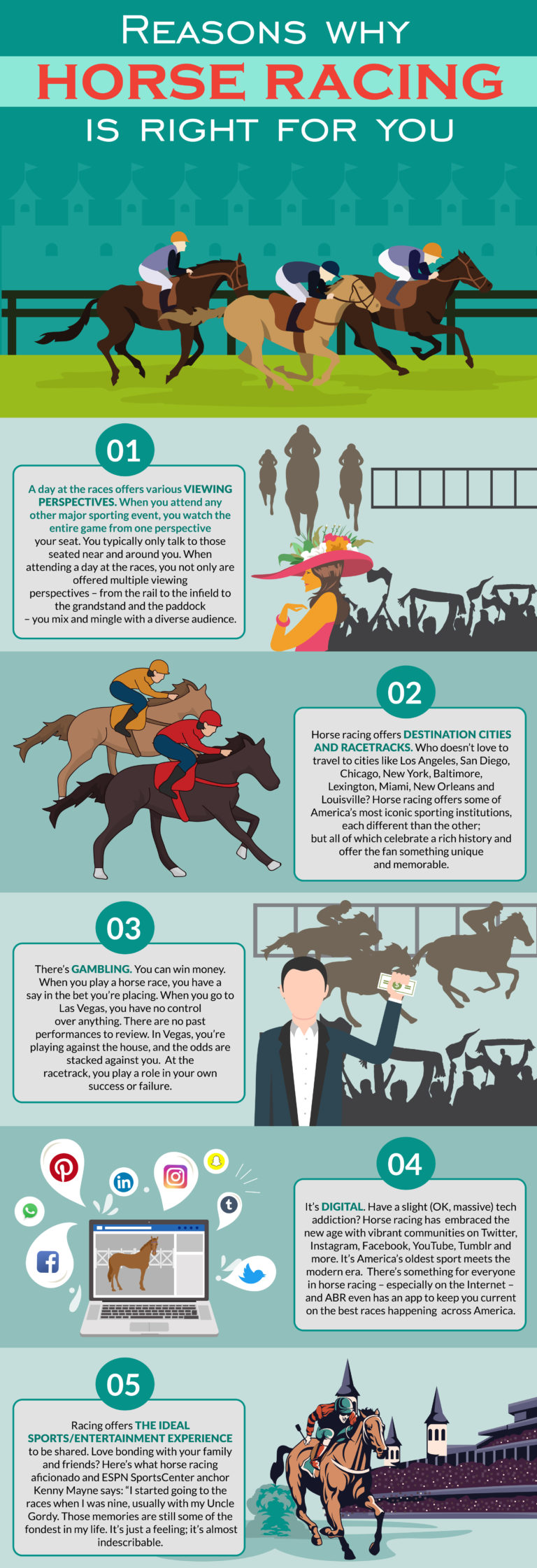 Reasons Why Horse Racing is Right for You