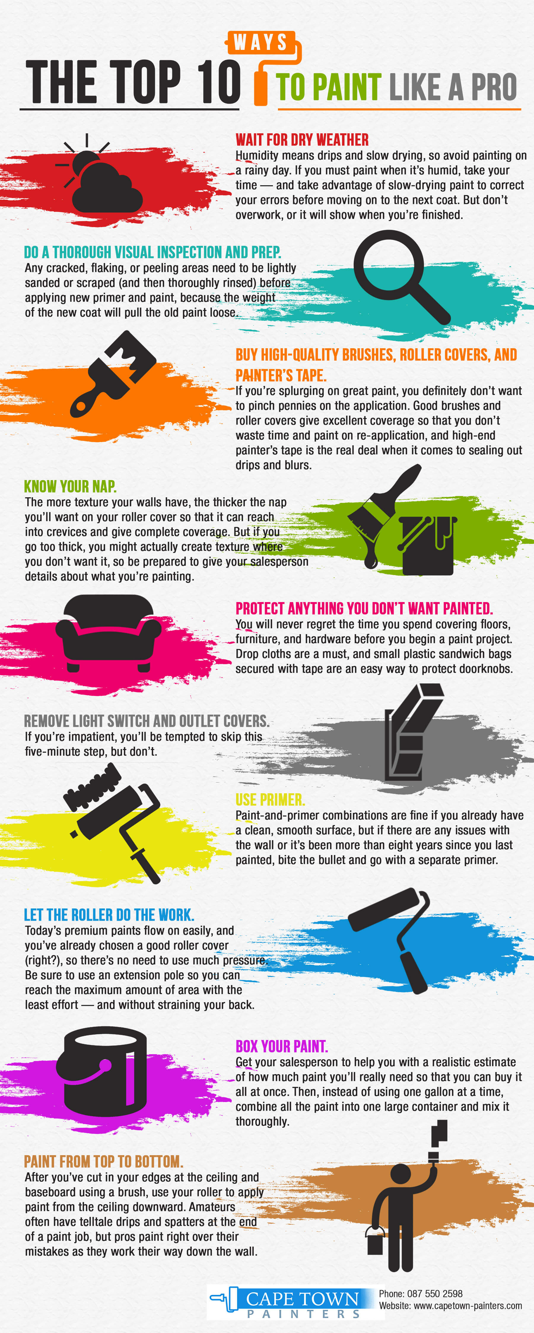 Useful Painting Tips from Experienced Painters