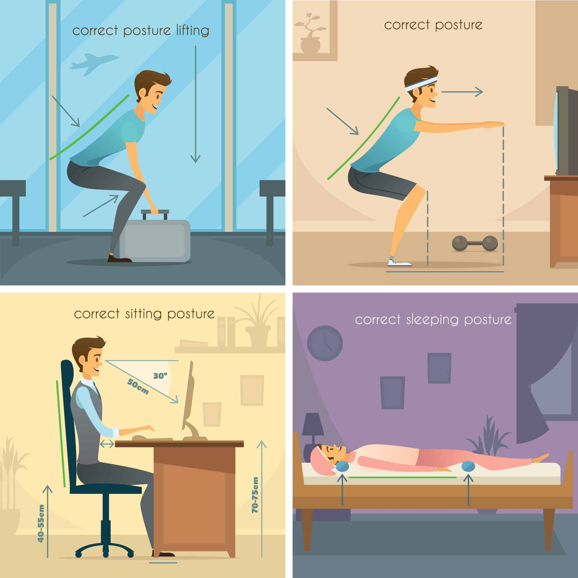 Good Posture for Good Health
