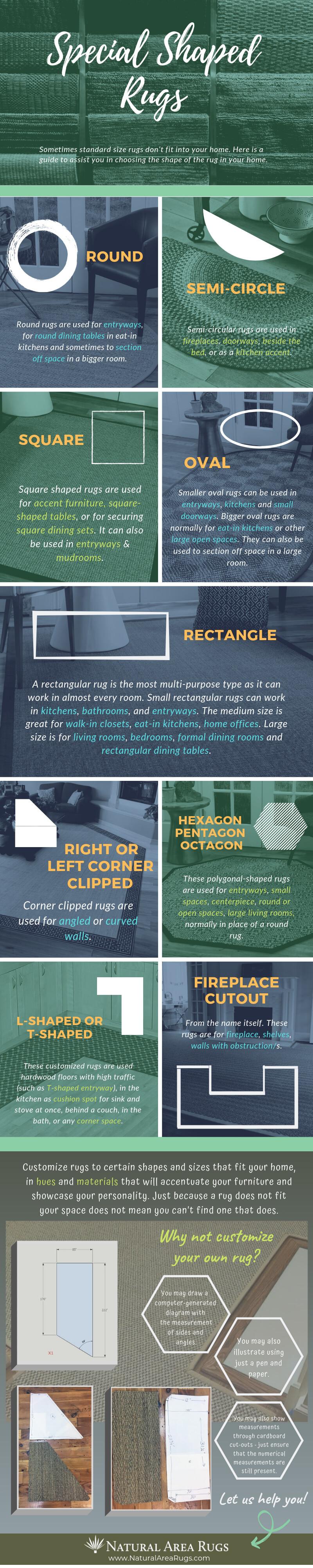 Custom Shape Rug Guide