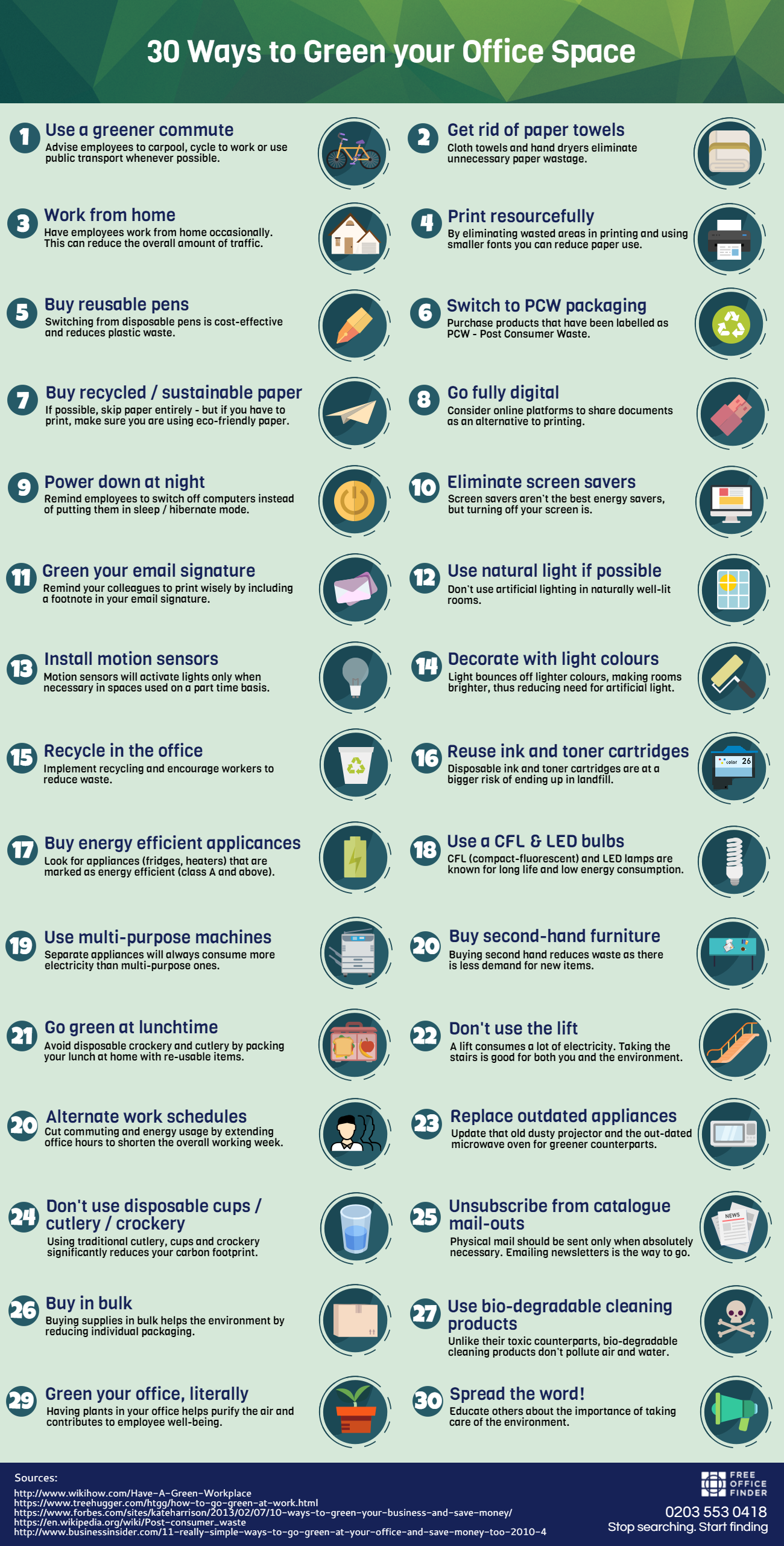green-your-office-infographic