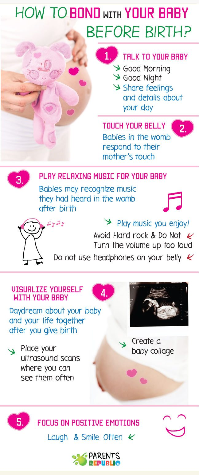 How to Bond with Your Baby before Birth