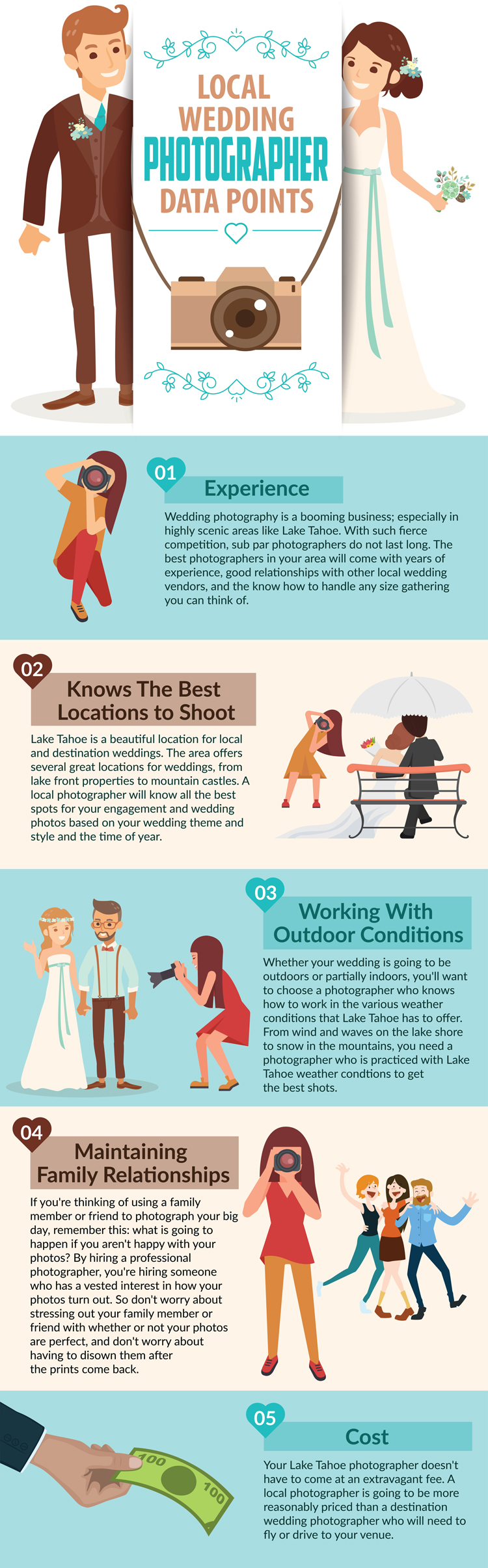 Reasons to Go Local When Choosing a Wedding Photographer