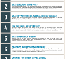 Groupon Infographic Order Coupon Cause FAQ (C.C. FAQ)